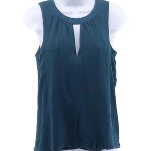 J Crew 100% Silk Sleeveless Top Shirt Women's Med